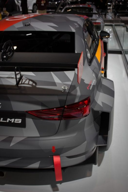 Canadian International Autoshow 2019 - Audi RS3 LMS TCR