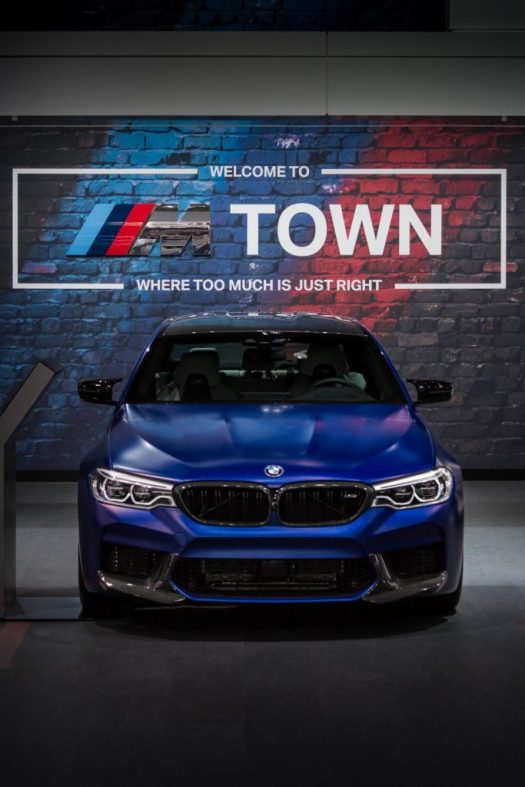 Canadian International Autoshow 2019 - BMW M5 Competition