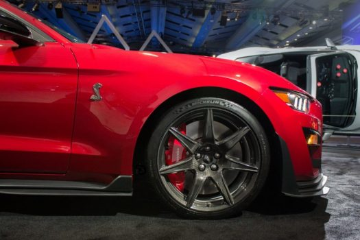 Canadian International Autoshow 2019 - Shelby GT500 carbon fiber wheels