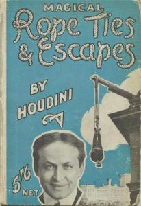 Inside Magic Image of Harry Houdini's Classic Magical Rope Ties & Escapes from 1921
