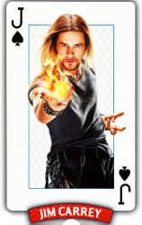 Inside Magic Image of Jim Carrey as Magician Steve Gray from Burt Wonderstone Film