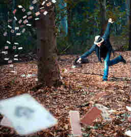 Inside Magic Image of Ronen Goldman's Surrealist Image The Magician