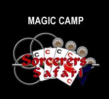 Inside Magic Image of Sorcerers Safari Magic Camp Logo
