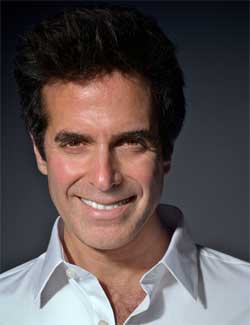 Inside Magic Image of David Copperfield