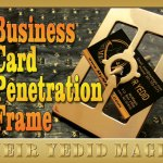 Image of Meir Yedid's Business Card Penetration Frame