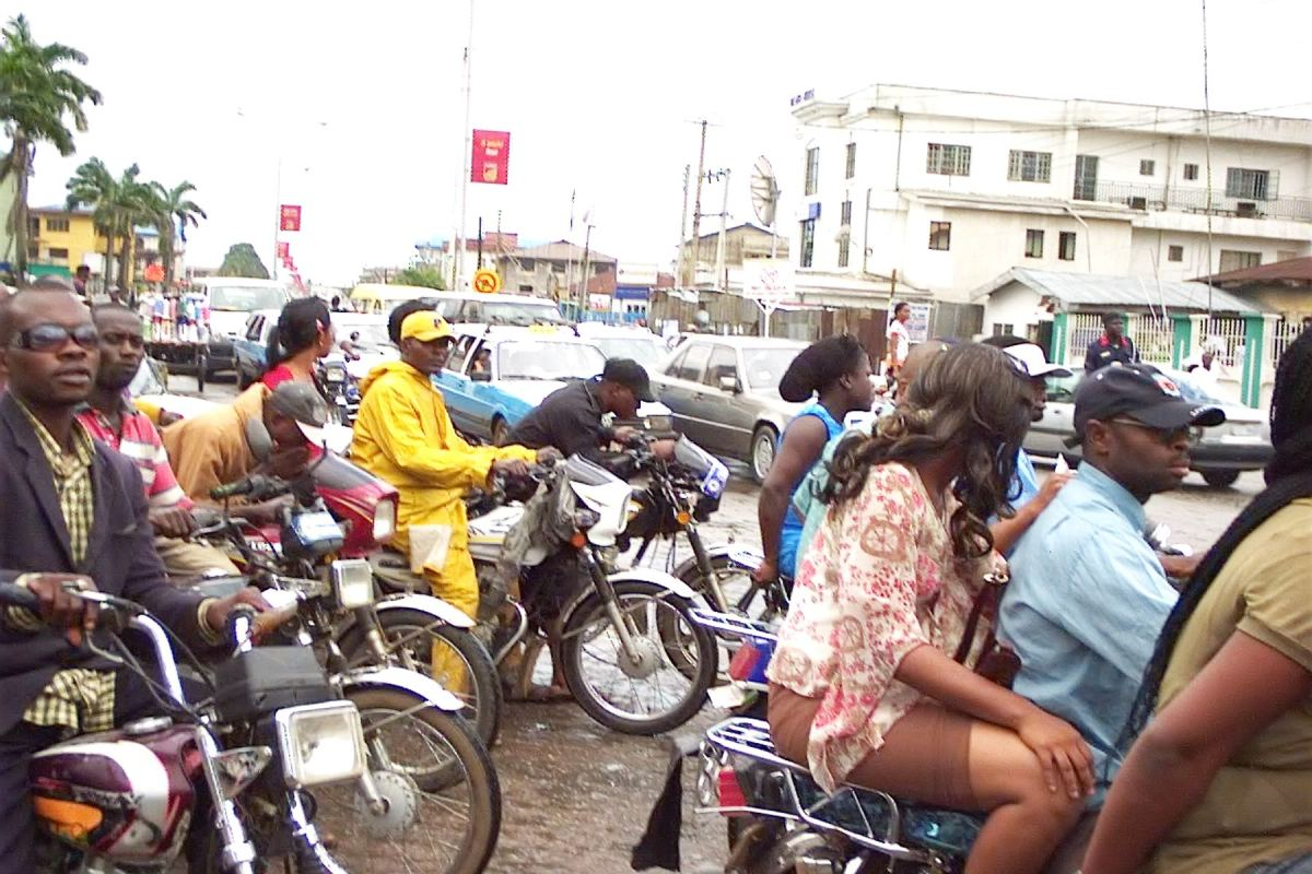 If you ride 'Okada' on restricted routes, you need to see this
