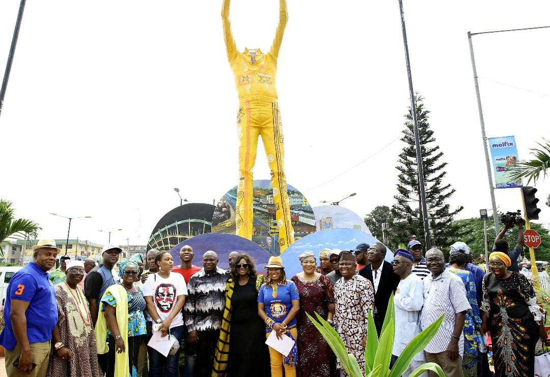 'Fela hated statues when he was alive' – daughter says at statue unveiling