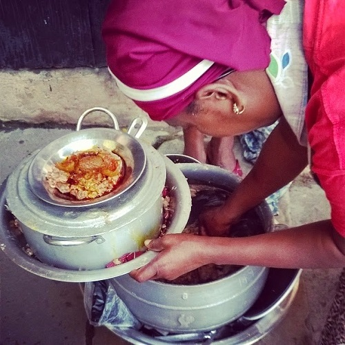 Dear Opebi residents, the Ewa Agoyin you eat is cooked close to a canal |  InsideMainland