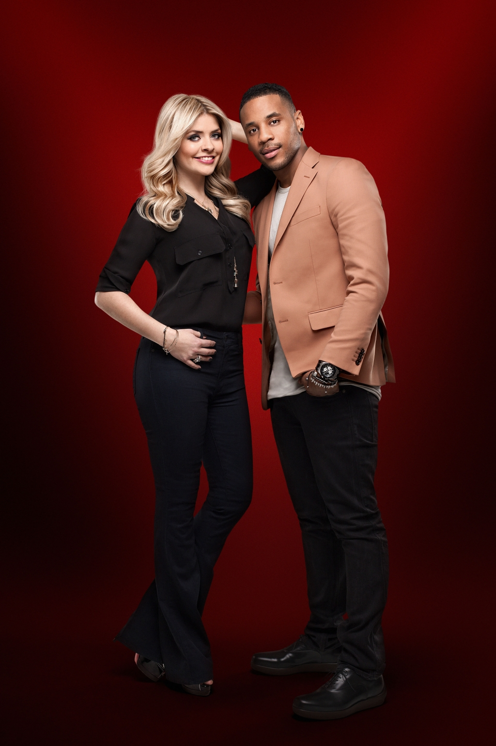 The Voice Within The Cards: The Voice UK Presenters Holly Willoughby & Reggie Yates