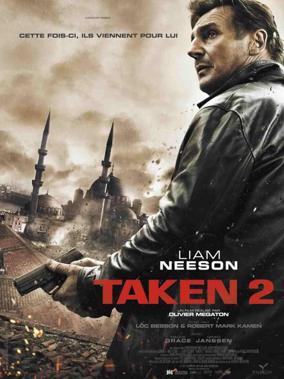Watch: Taken 2 Theatrical Trailer Starring Liam Neeson