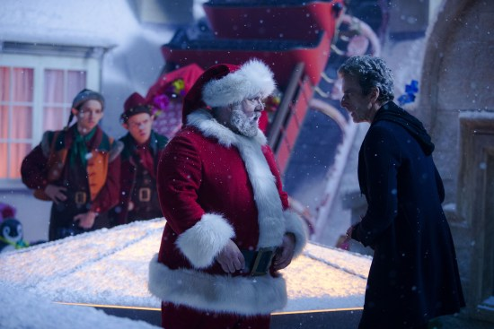 Last Christmas, written by Steven Moffat