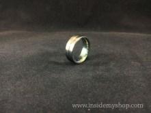 Anodized Titanium Ring