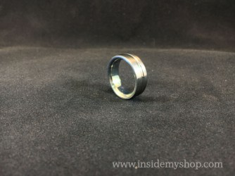 Anodized Titanium Ring