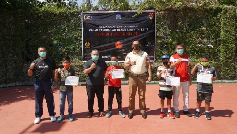 "Turnamen Tennis"" Senggigi Bangkit"", Digelar Sambut HUT TNI Ke – 75"