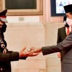 Presiden Resmi Lantik Listyo Sigit Prabowo jadi Kapolri