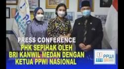Korban PHK Sepihak BRI Cabang Medan Mengadu ke PPWI