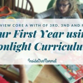 Using Sonlight: a Year in Review PreK, 2nd, 3rd