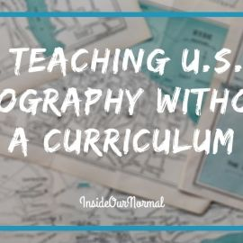 Teaching US Geography Without a Curriculum