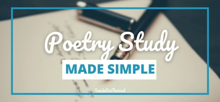 Poetry Made Simple for Your Homeschool