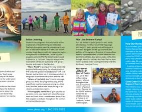 Port Townsend Marine Science Center brochure