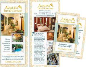 Azalea Inn & Gardens - print marketing