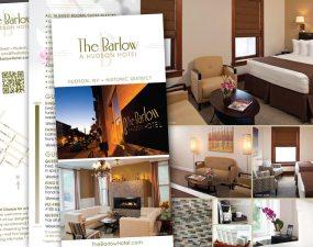 The Barlow Hotel brochure design