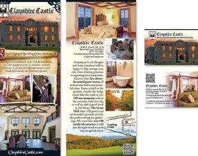Clayshire Castle print design