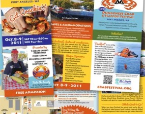 Dungeness Crab & Seafood Festival - brochure