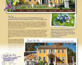 Dutch Iris Inn web & print design