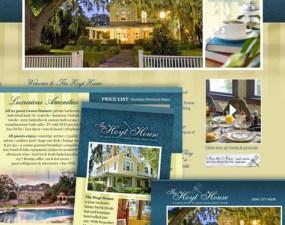 The Hoyt House web & print design