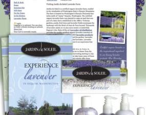 Jardin du Soleil web & print design