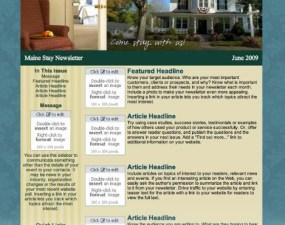 Maine Stay Inn & Cottages - e-newsletter