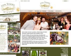 von Stiehl winery 2017 branding update