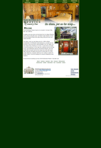 knickerbockermansion.com as it appeared on its 2002 launch