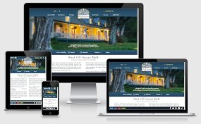 West Hill House B&B Custom Responsive WordPress Web Design