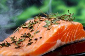 enjoy fresh, local salmon -   along the Olympic Culinary Loop