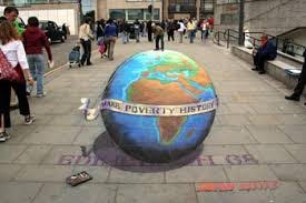 Make Poverty History (Julian Beever)