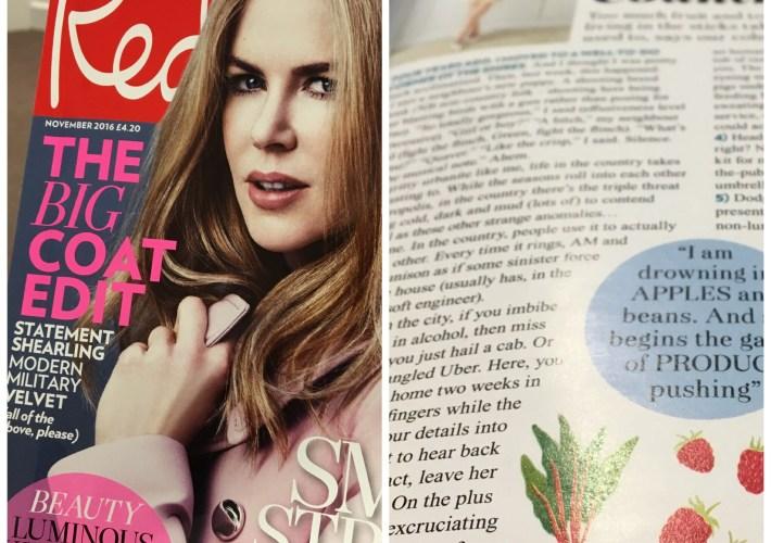 Red Magazine Rosie Green