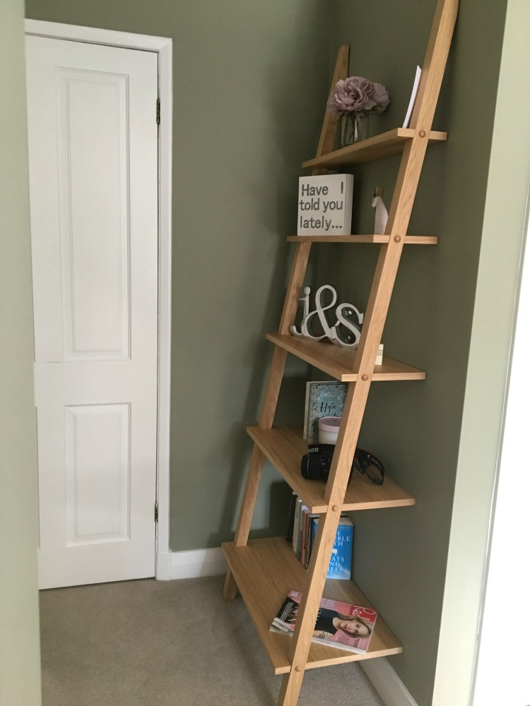 ladder shelf from John Lewis