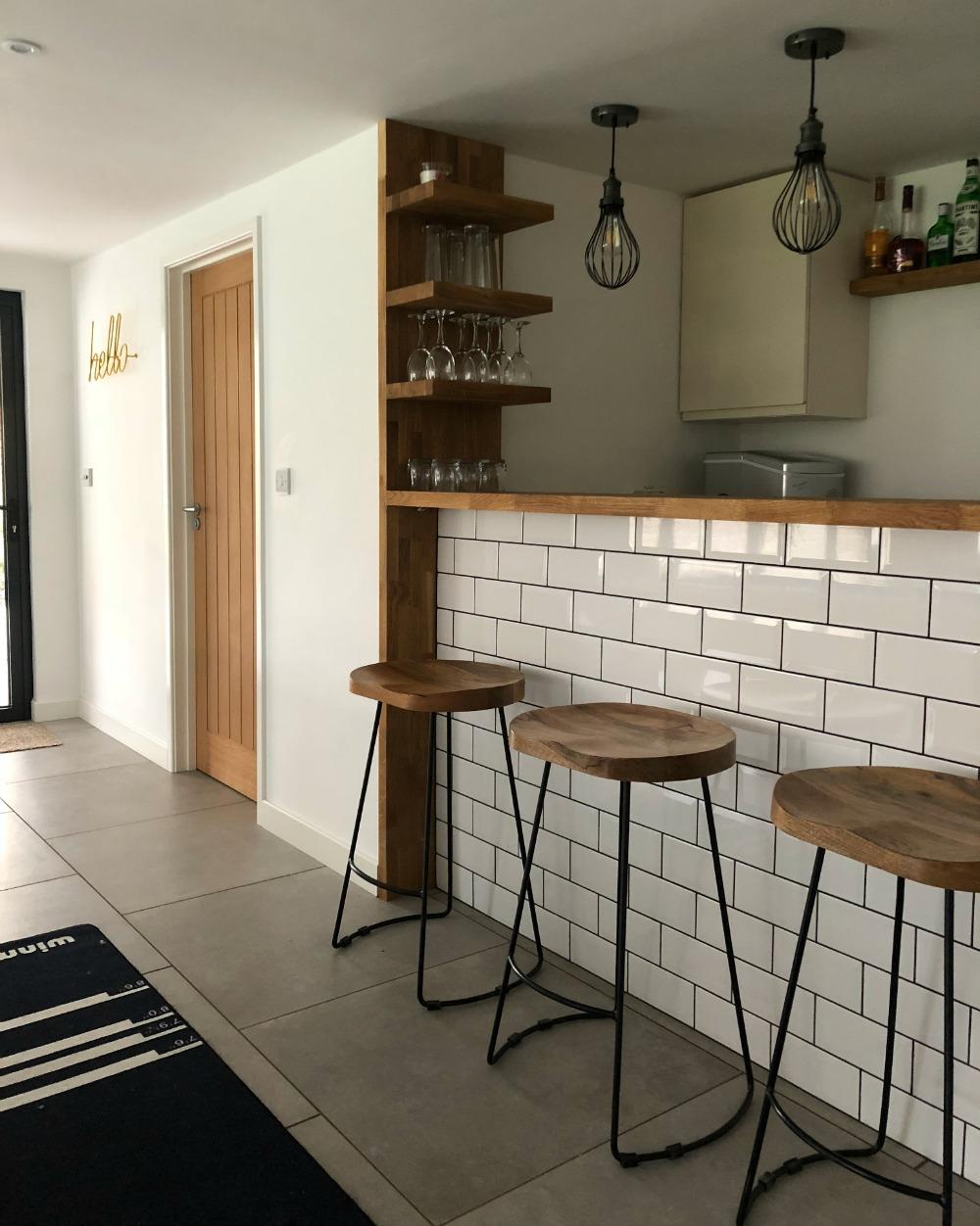 bar in garden room