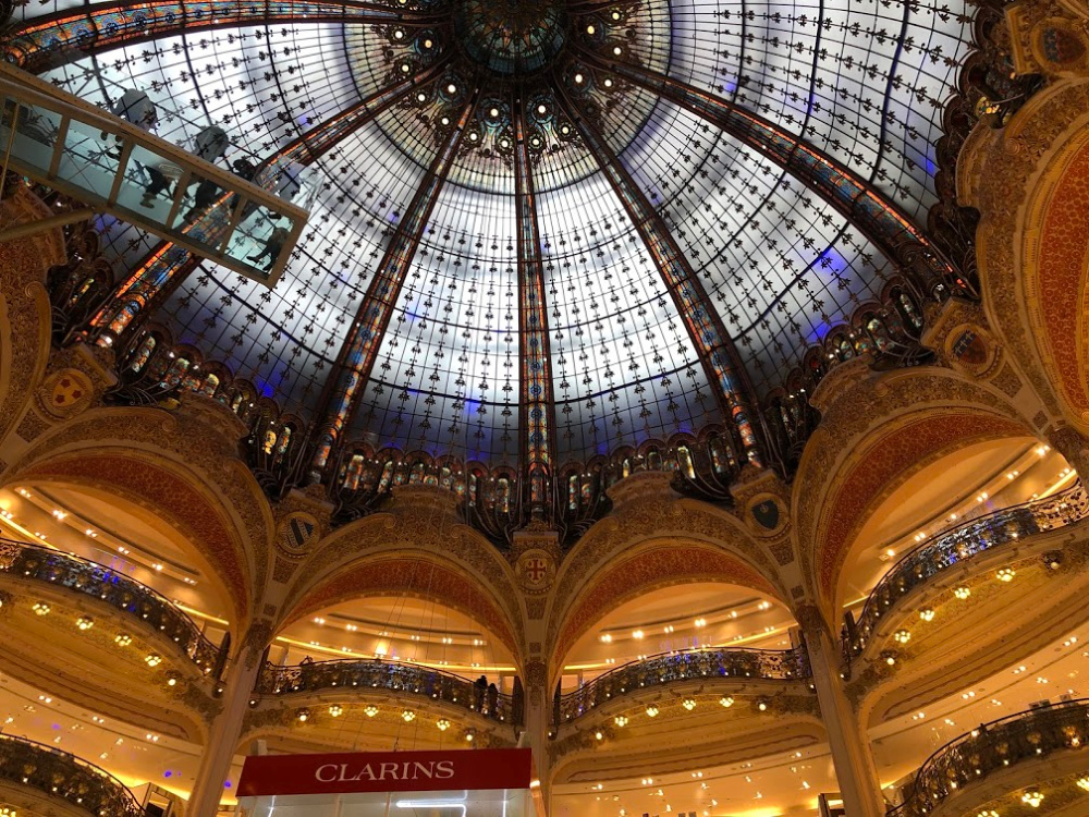 Galeries Lafayettes Ceiling