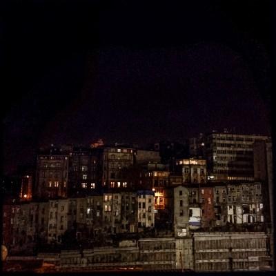 Istanbul at night, Mieke Strand