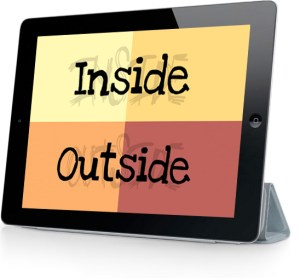 Inside-Outside iPad