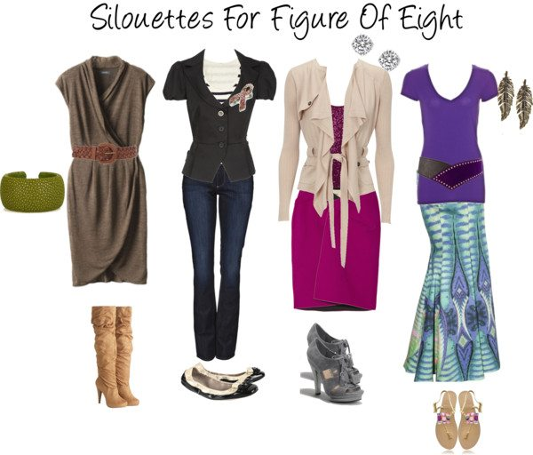 Silouettes For Figure Of Eight