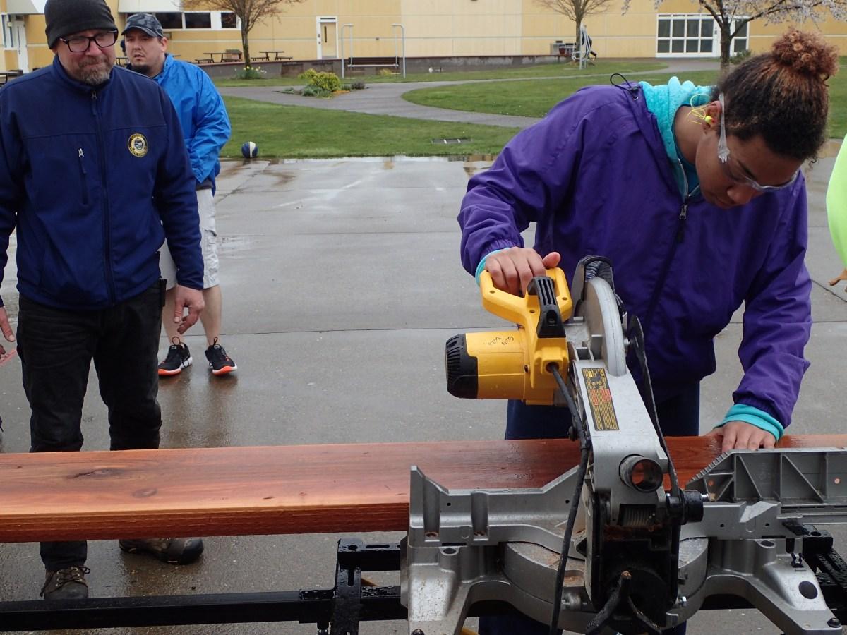 Girls Build at Oak Creek