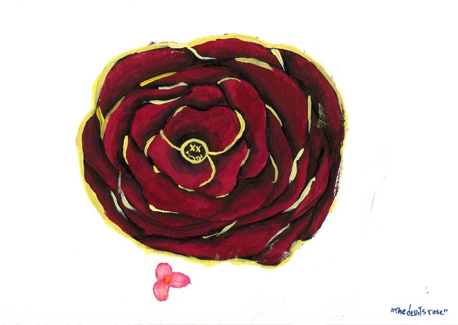 The Devil's Rose, art by Ashlie S at Oak Creek