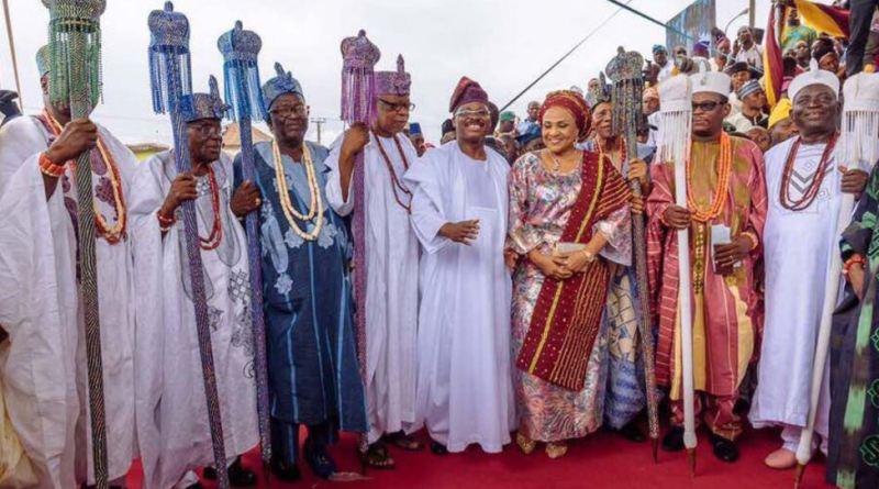 Image result for Ibadan Chieftaincy Crisis  Olubadan
