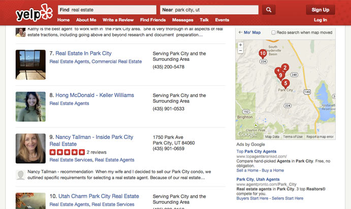 Best Places to Find Park City Real Estate Agent Reviews