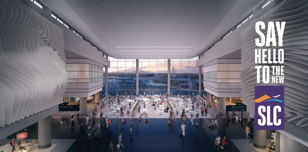 The New SLC Airport
