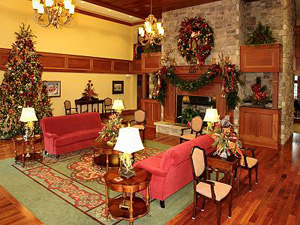 Christmas Place Hotel in Pigeon Forge